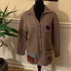 Vintage Ralph Lauren Wool Cardigan